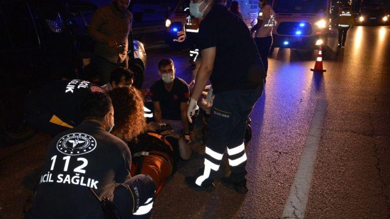 Arifiye'de trafik kazası:4 yaralı