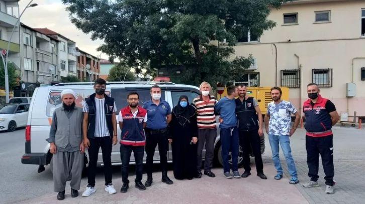 Kaybolan Ömer, ailesine teslim edildi