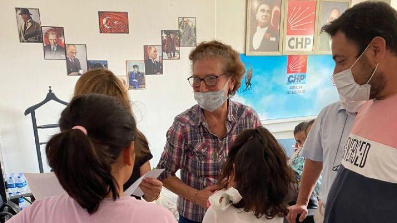 CHP'den 125 öğrenciye kırtasiye yardımı