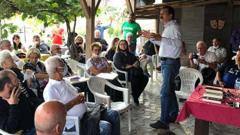 Erkan Baş, Karasu'da halkla buluştu