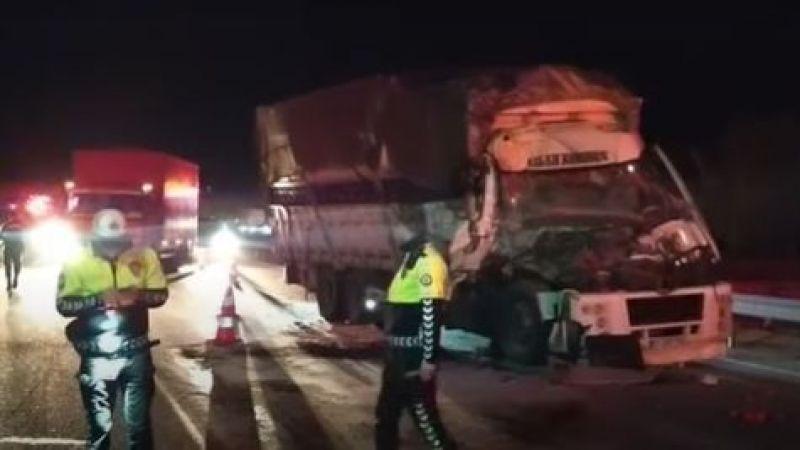 D-650 Karayolunda trafik kazası
