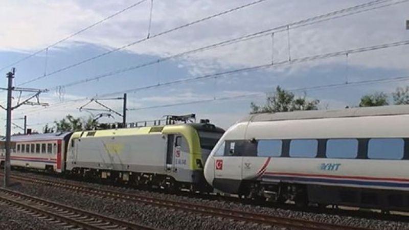 Ada Treni ve Yüksek Hızlı Tren çarpıştı