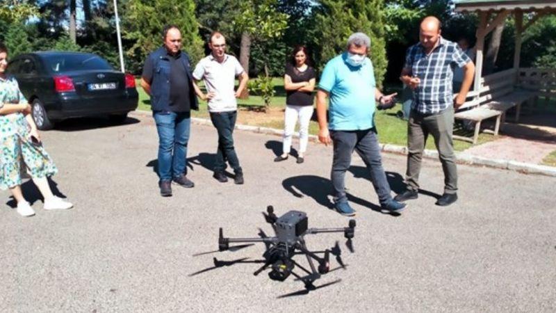 Ormancılara drone eğitimi verildi