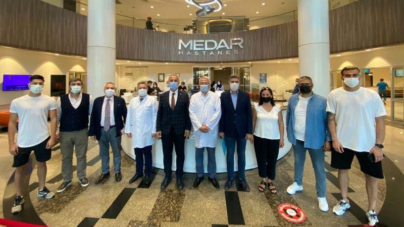 Hendekspor'un sağlık sponsoru Medar Hastanesi