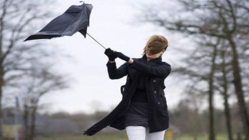 'Şiddetli rüzgara dikkat' uyarısı