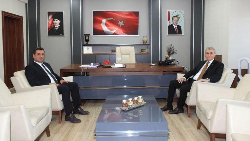 Yüce'den yeni bürokratlara ziyaret