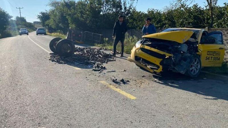 Kocaali'de kaza: 2 yaralı