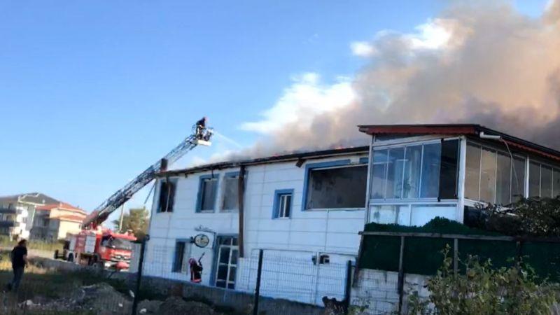 Karasu Yenimahelle'de yangın