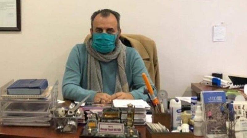 Dr. Katıöz entübe edildi