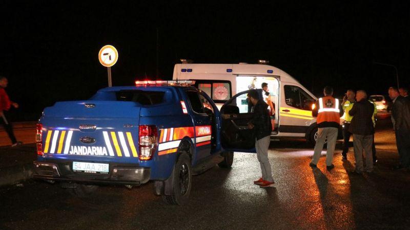 D-100'de kaza:1'i çocuk 6 yaralı