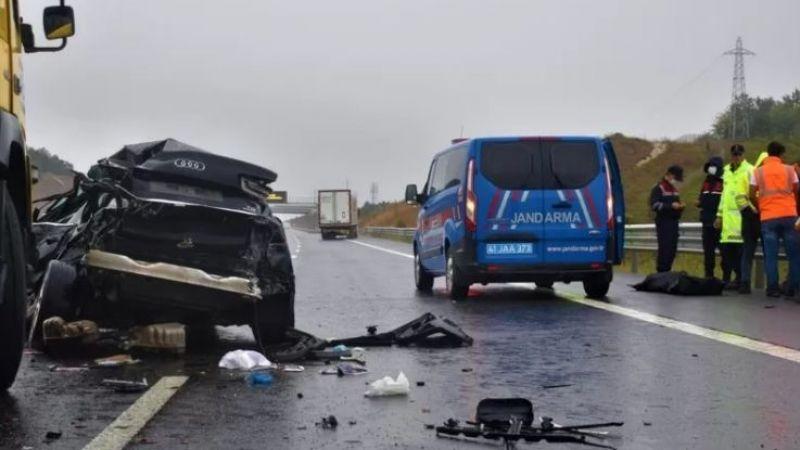 Yağmur ölümlü kazaya neden oldu