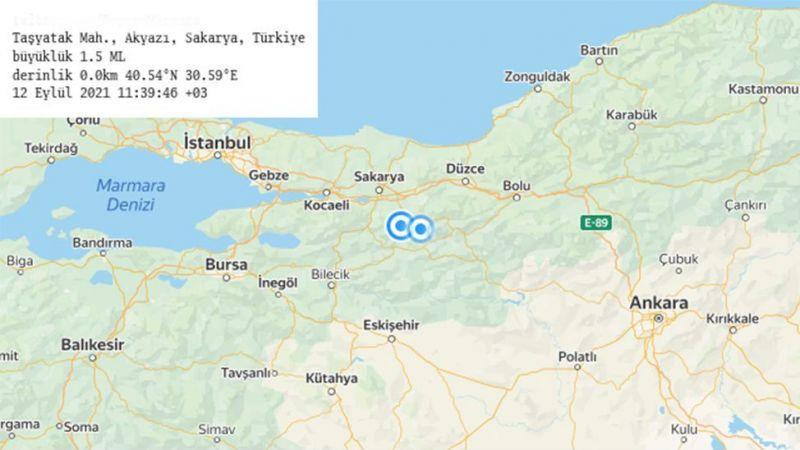 Akyazı ve Hendek'te hissedilmeyen depremler