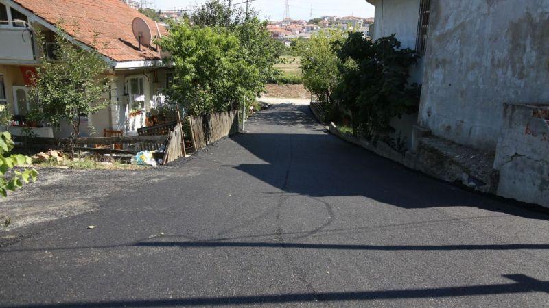32 Evler'de 8 sokak daha asfaltlandı