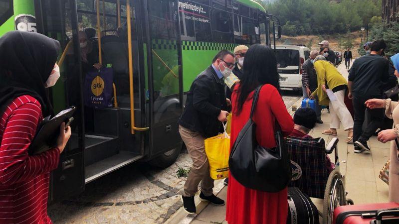 YADEM'le kaplıca tatili yeniden başladı