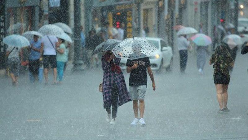 Meteoroloji'den Cumartesi günü için uyarı