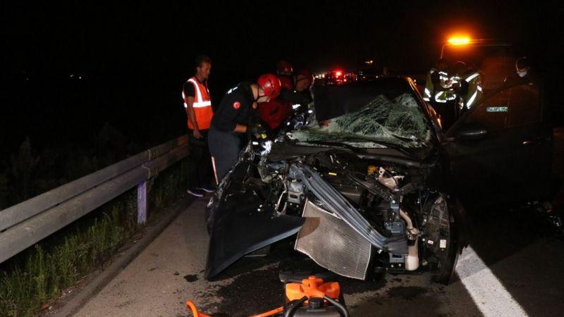 Kuzey Marmara'da yine kaza: 1 ölü 2 yaralı
