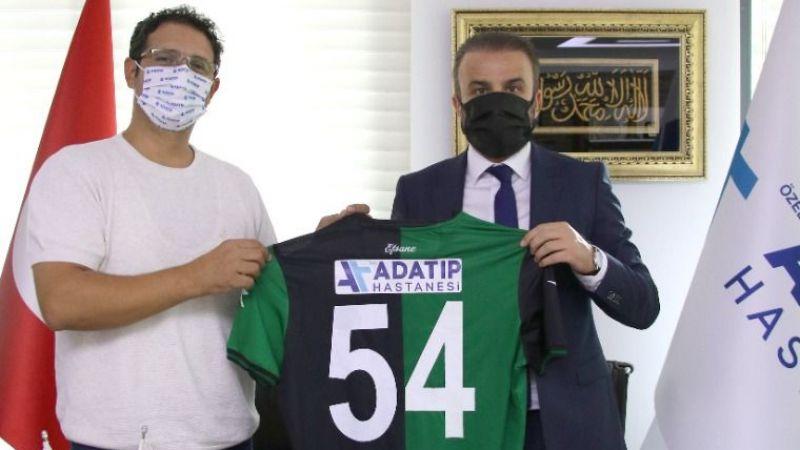 Sakaryaspor'un sağlık sponsoru Adatıp oldu
