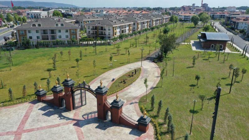 Serdivan Millet Bahçesi çocukları bekliyor