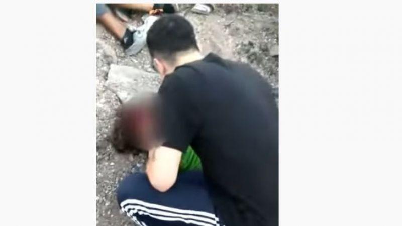 3 çocuğun yaralandığı kazanın görüntüleri ortaya çıktı
