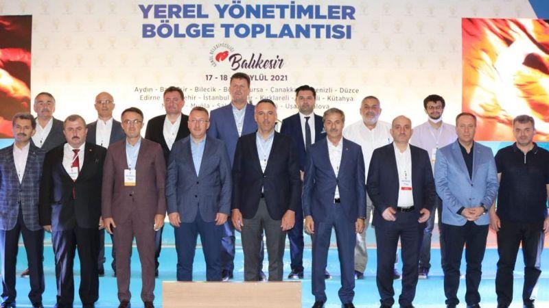 AKP'li Başkanlar Edremit'te