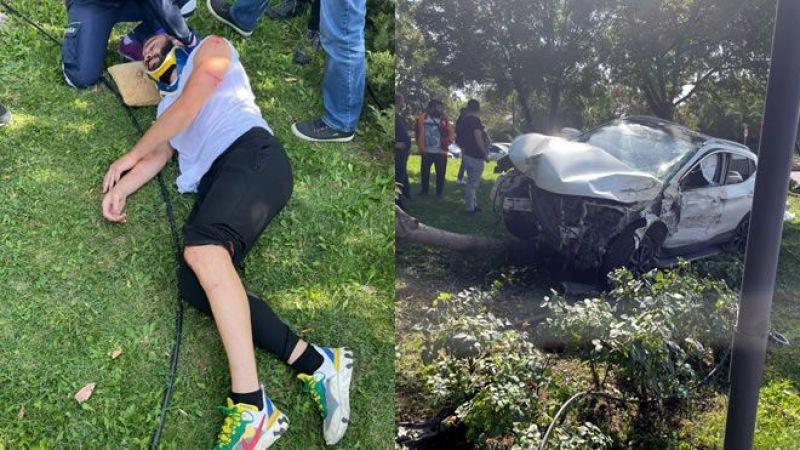 Sakaryaspor'lu Taşçı kazada yaralandı
