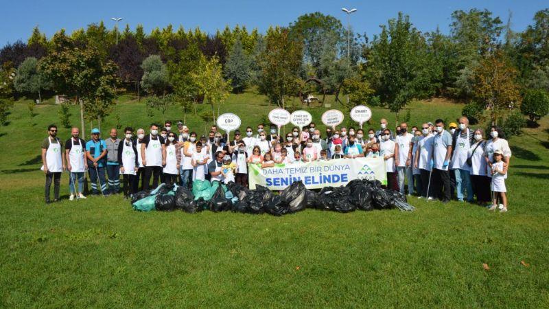 SEDAŞ gönüllülerinden çevre temizliği