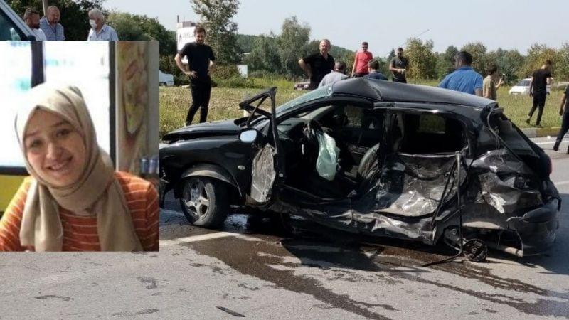 22 yaşında kazada can verdi