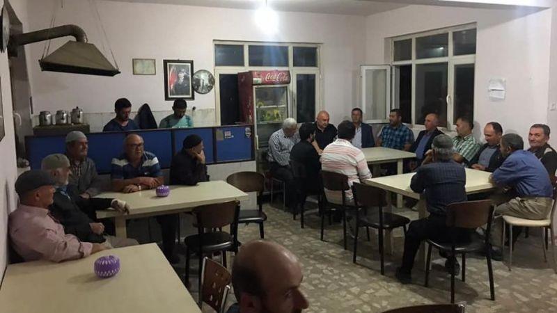 Özkoç ve CHP'liler çiftçiyi dinledi