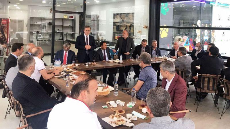 Ahde Vefa'da yeni dönemin ilk toplantısı