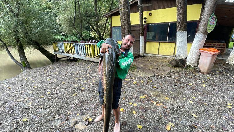 Bu balık Melen'de tutuldu