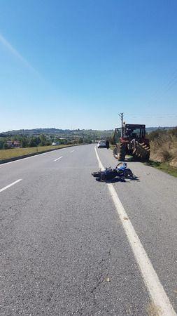 Kaynarca yolunda kaza: 1 ağır yaralı