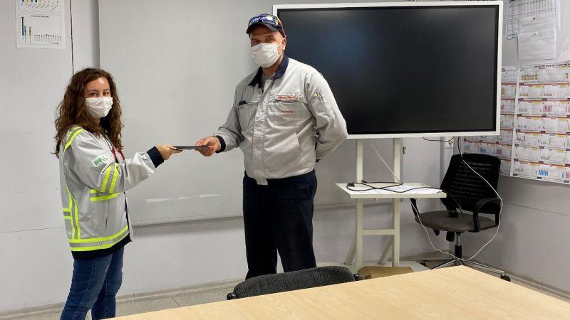 Toyota'dan Sağlık Ayı'nda personele etkinlik
