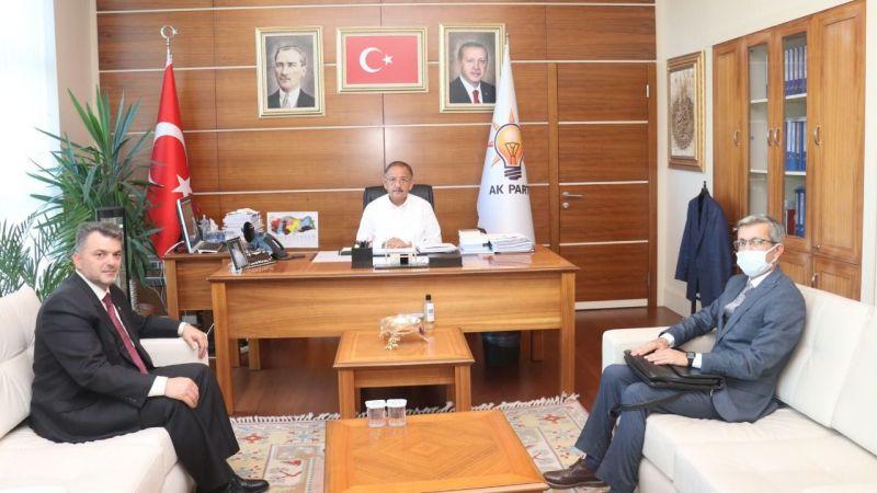 Başkan Sarı, Özhaseki'yi ziyaret etti