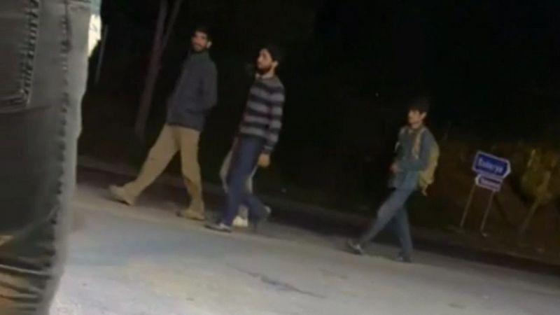 Afgan göçmenler ormana kaçtı