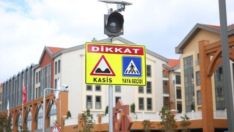 Büyükşehir'den güvenli trafik için önlem