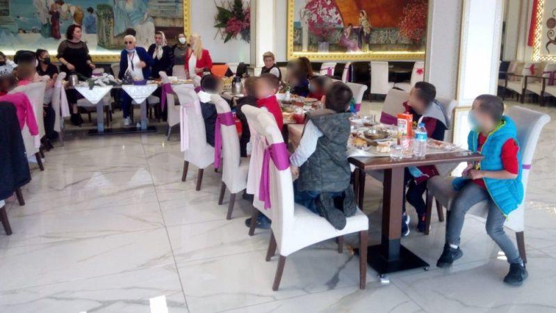 TKB çocuklarla kahvaltıda buluştu