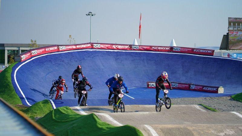 BMX Supercross'un 5'inci turu tamamlandı