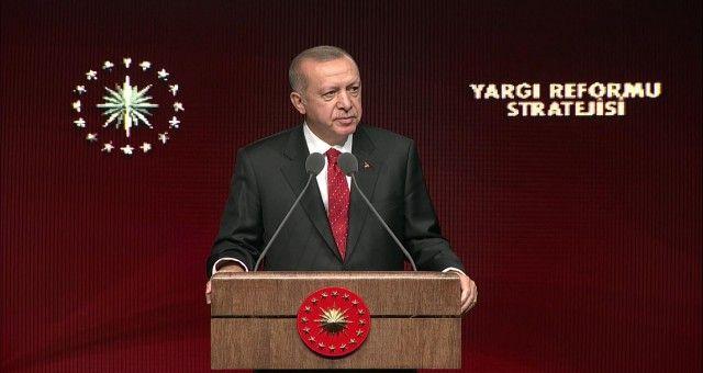 Cumhurbaşkanı Yargı Reform Stratejisi Tanıtım Toplantısında Konuştu