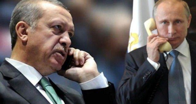 Cumhurbaşkanı Erdoğan Putin ile Görüşme Yaptı