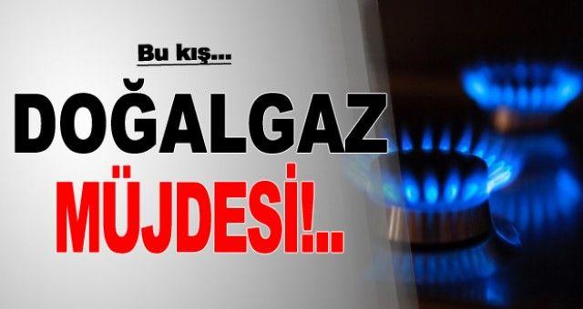 Başkan Hasan Arslan'dan doğalgaz müjdesi