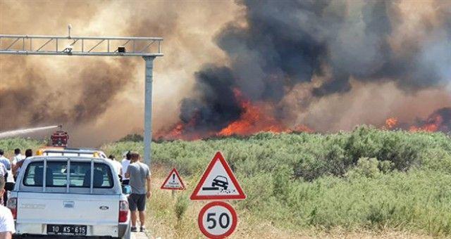 Muğla Marmaris ve Balıkesir'de de Yangın Çıktı