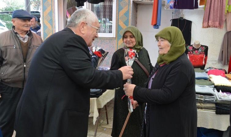 Başkan Himam'dan Gömeçli kadınlara anlamlı jest
