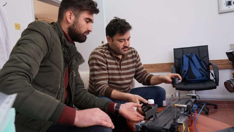 Mucit Mustafa'nın kodlamasıyla katı atıklar ayrışıyor