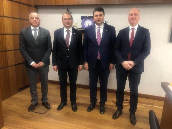 Ayvalık Belediye Başkanı Ergin, başkentten müjdeli haberlerle döndü