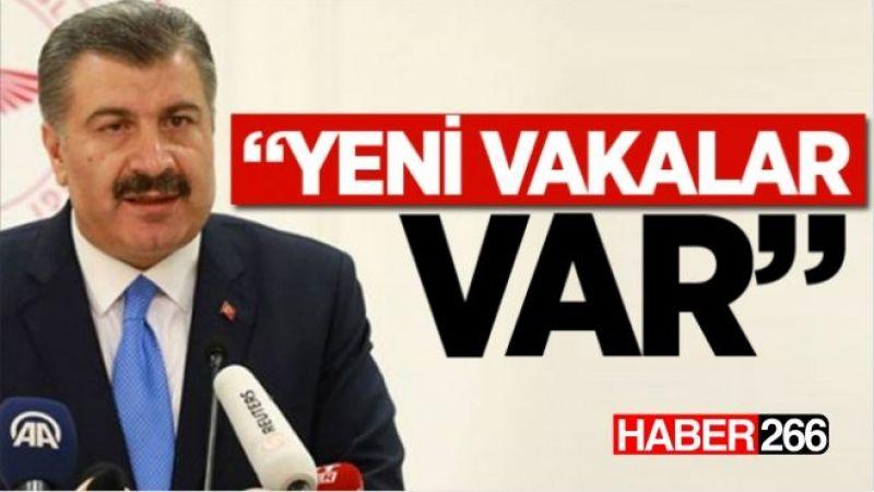 Sağlık Bakanı Prof.Dr. Fahrettin Koca'dan yeni bir açıklama