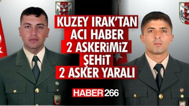 2 Kahraman askerimiz şehit, 2 Kahraman askerimiz yaralı