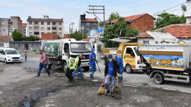 Edremit Belediyesi'nden geniş kapsamlı temizlik