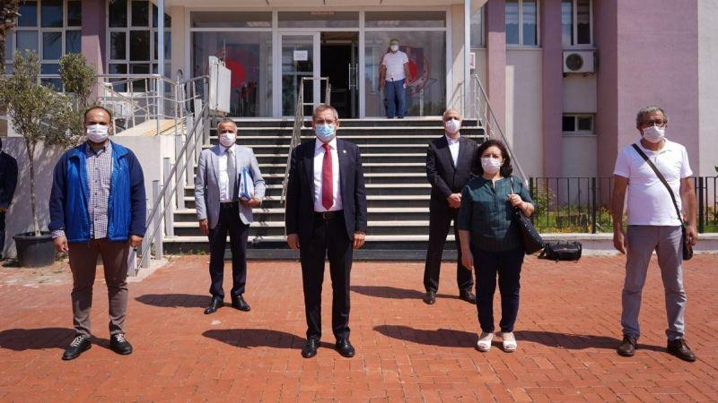 Başkan Mesut Ergin suç duyurusunda bulundu
