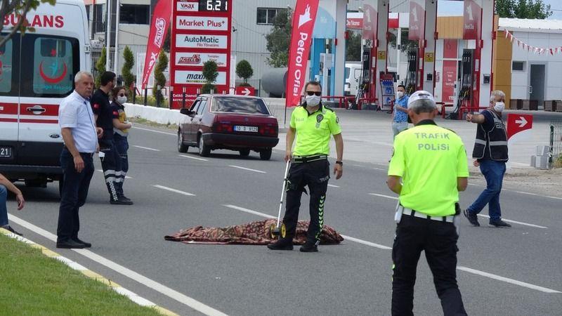 Havran'daki trafik kazasında;1 ölü