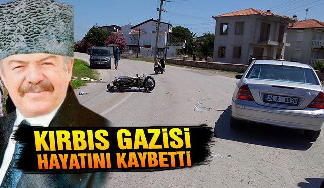 Ayvalık'ta motosikletle otomobil çarpıştı; 1 ölü